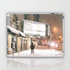 New York City Snow Laptop & iPad Skin