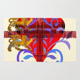 Three Lion Heart I Rug