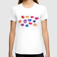 lip T-shirts featuring Lip Service by Samantha Jayne
