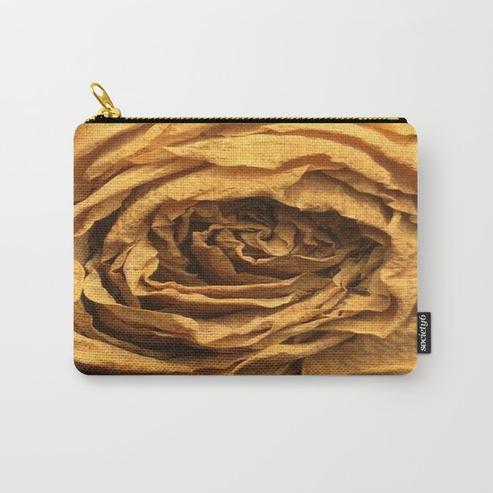 Old Rose Carry-All Pouch