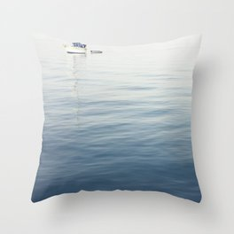 Halcyon Breathes Throw Pillow