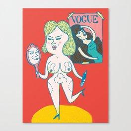 Body Image Canvas Print