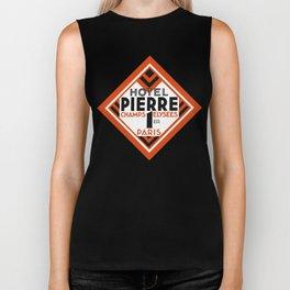 Hotel Pierre Paris Art Deco Biker Tank