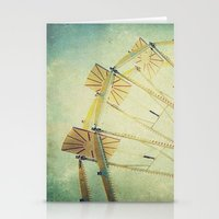 glee Stationery Cards featuring Ferris Wheel by Honey Malek
