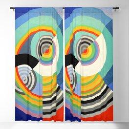 Robert Delaunay - Rythme no 3 - Rhythm no 3 - Abstract Colorful Art Blackout Curtain