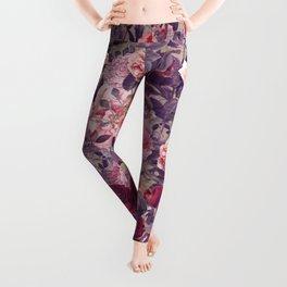 Flowery frame Leggings