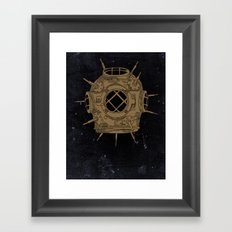 Dive Bomb. Framed Art Print