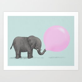 Jumbo Bubble Art Print