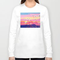daisies Long Sleeve T-shirts featuring Daisies by Suzanne Gibson