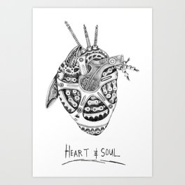 Heart & Soul Art Print