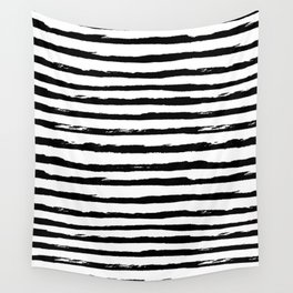 Ink Stripes Wall Tapestry