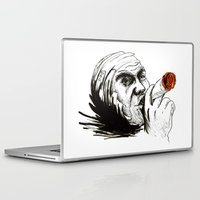 cigarette Laptop & iPad Skins featuring Cigarette by Anna Pietrawska
