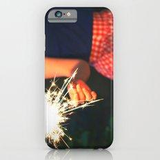 summer sparkler iPhone 6s Slim Case