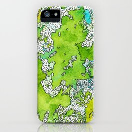 Greenland iPhone Case