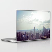 nyc Laptop & iPad Skins featuring NYC by Shilpa