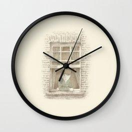 The Night Gardener - William Wall Clock