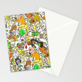 Medieval Roundup Stationery Cards