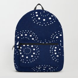 Lovely Dark Blue Backpack