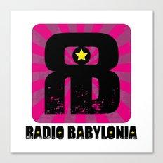 Radio Babylonia Canvas Print