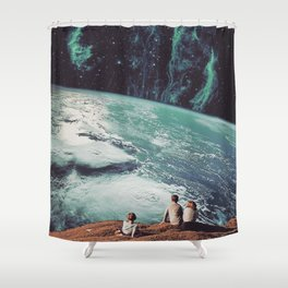Astronomical Limits II Shower Curtain