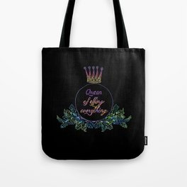 queen of effing everything Tote Bag