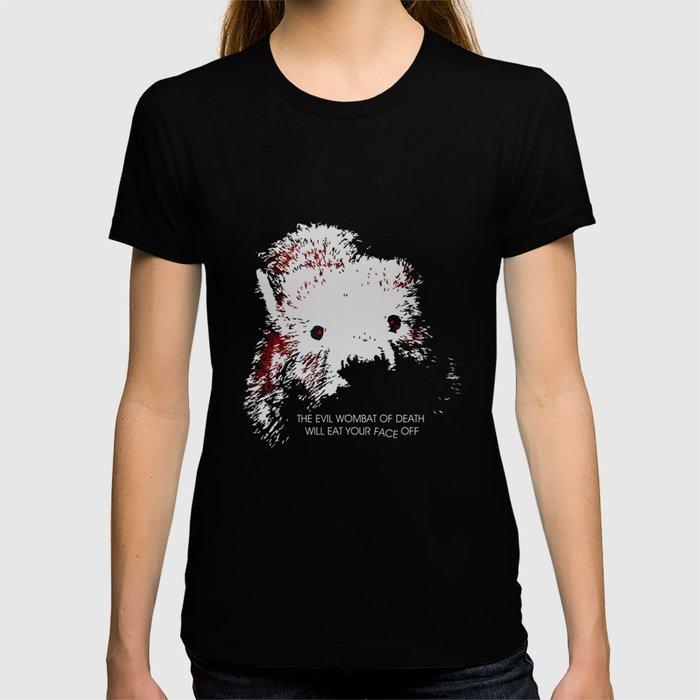 Evil Wombat of Death T-shirt