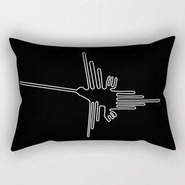 nazca bird Rectangular Pillow