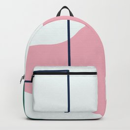 Silence is deadly - on white background Backpack