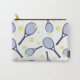 Sports collection - Tennis blue and yellow Carry-All Pouch