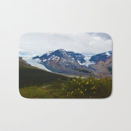 The Athabasca & Snow Dome Glaciers in Jasper National Park, Canada Bath Mat