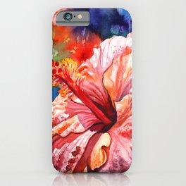 Tropical Hibiscus 2 iPhone Case