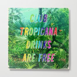 Club Tropicana #2 – A Hell Songbook Edition Metal Print
