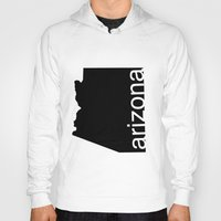 arizona Hoodies featuring Arizona by Isabel Moreno-Garcia