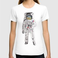 astronaut T-shirts featuring Astronaut by James White