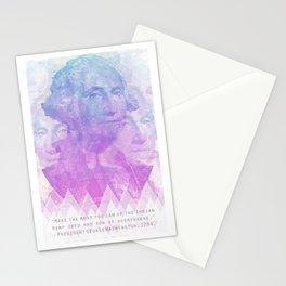 George Washington says grow hemp weed Stationery Cards
