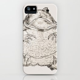 Draw Me Like One Of Your French Frogs iPhone Case