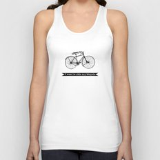 bicycle Unisex Tank Top