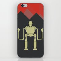 iron giant iPhone & iPod Skins featuring The Iron Giant  by Stefanoreves
