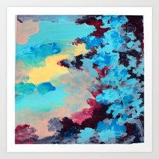 Blue Ivy Art Print