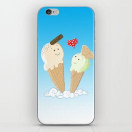 Ice Creams In Love iPhone Skin