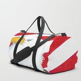 Eagle And Flag Duffle Bag