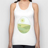 easter Tank Tops featuring Easter Tale by Anita Ivancenko