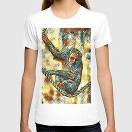 AnimalArt_Chimpanzee_20170901_by_JAMColorsSpecial T-shirt