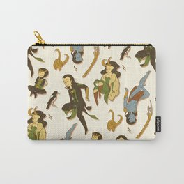 All the Lokis Carry-All Pouch