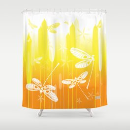 CN DRAGONFLY 1015 Shower Curtain