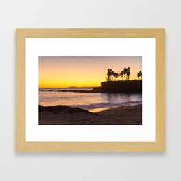 Laguna Beach Collection - Shaws Cove Framed Art Print