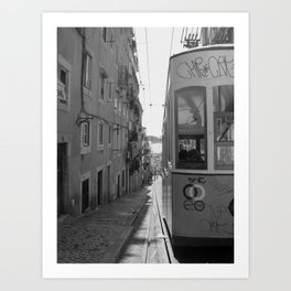 BICA Lisbon Art Print