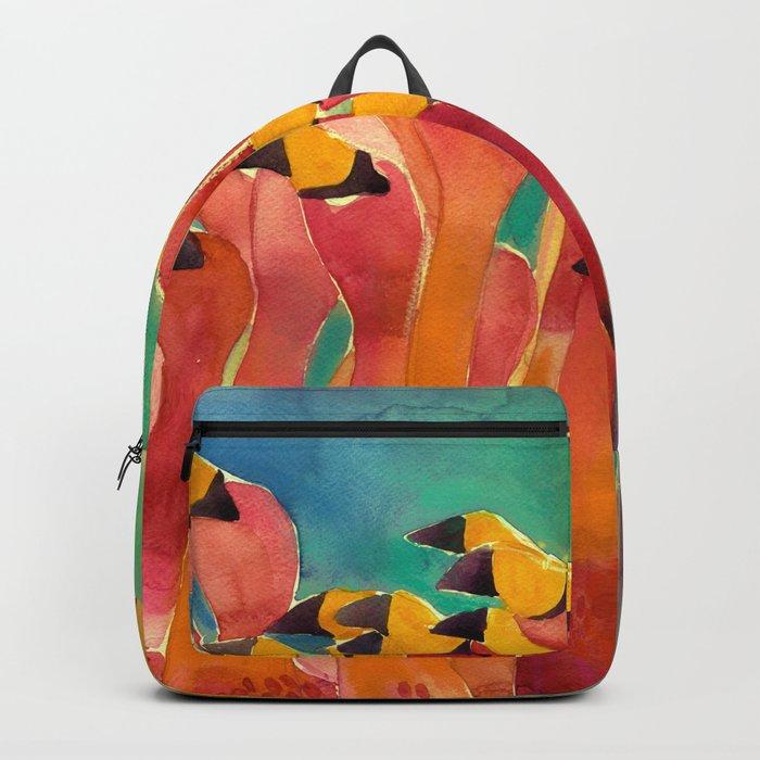 Flamingos Backpack