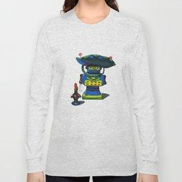 Robot-Bob Long Sleeve T-shirt