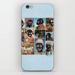 Faces of Sunday-5 iPhone Skin
